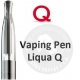 LIQUA Q VAPING PEN Clearomizer 2,0 ohm - black