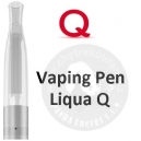 LIQUA Q VAPING PEN Clearomizer 2,0 ohm -clear