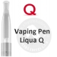 LIQUA Q VAPING PEN Clearomizer 2,0 ohm -red