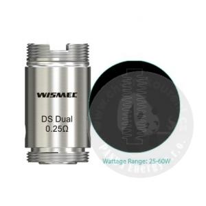 Atomizer WISMEC DS Dual 0,25 ohm